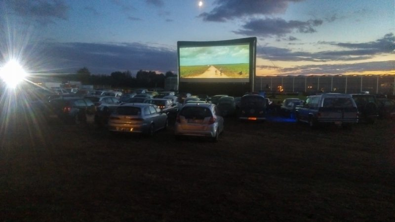 Drive in bioscoop Laarne (B)